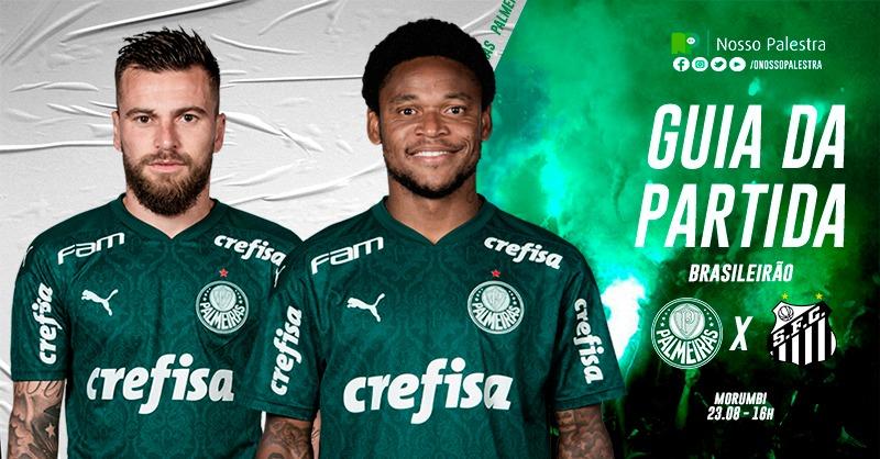 Palmeiras x Santos: onde assistir, arbitragem e escalação ...